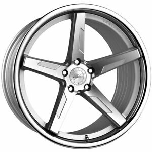 20 Vertini Rfs1 7 Silver 20x9 20x10 5 Forged Wheels Rims Fits Jaguar Xkr
