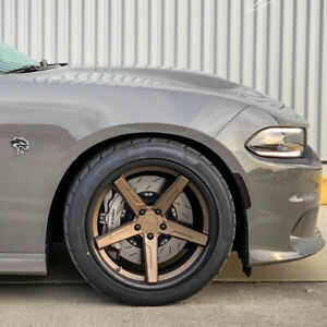 20 Vertini Rfs1 7 20x10 20x11 Concave Forged Wheels Rims Fits Dodge Challenger