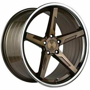 20 Vertini Rfs1 7 Bronze 20x9 20x10 Forged Wheels Rims Fits Ford Mustang Gt