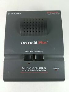 On hold Plus Ohp 3000 8 Digital Flash Memory Music on hold Player recorder