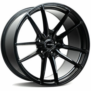 20 Velgen Vf5 Gloss Black 20x10 5 Forged Wheels Rims Fits Jeep Grand Cherokee