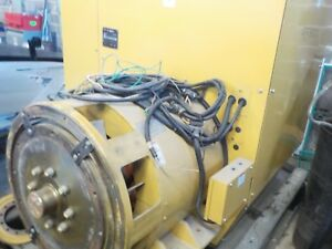 Caterpillar Generator On Skid 500 Kw 480 Volt Flywheel Housing Size 0