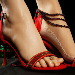 High Heel Silicone Feet Female Legs One Left Or Right Mannequin Display Model