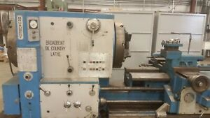 Broadbent Oil Country Manual Lathe