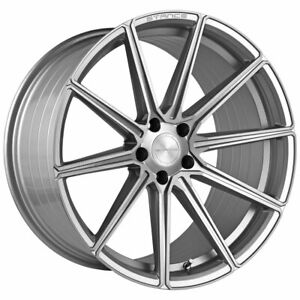 20 Stance Sf09 Silver 20x9 Concave Forged Wheels Rims Fits Acura Tsx