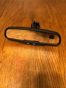 2003 2009 Chevy Silverado Sierra Rear View Mirror Compass Temp Auto Dim 15176974