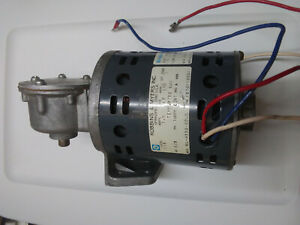Robbins And Myers Gear Reduced Motor Right Angle Drive 230 Rpm 115 Vac Cont Duty