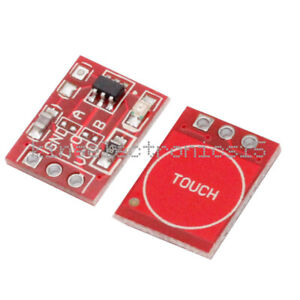 2pcs Ttp223 Capacitive Touch Switch Button Self lock Module For Arduino