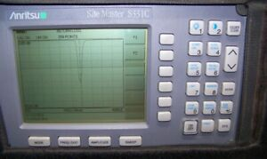 Nice Anritsu S331c Site Master With New Display battery charger 4ghz Full Test