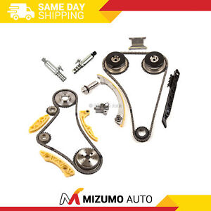 Timing Chain Kit Vct Selenoid Actuator Gear Fit Gm Ecotec 2 0l 2 4l