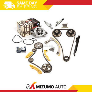 Timing Chain Kit Vct Selenoid Actuator Gear Water Pump Fit Gm Ecotec 2 0l 2 4l