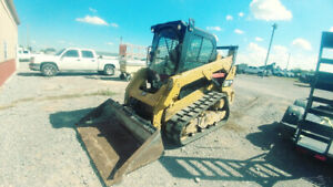2014 Cat 259d Cab A c Heat Track Skid Steer Loader Skidsteer