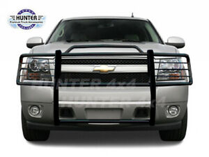2007 2014 Chevy Tahoe Suburban Avalanche Black Grille Brush Guard