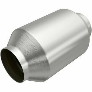 Magnaflow 12589 Stainless Muffler 3 Center Inlet Offset Out 22 Body 28 Long