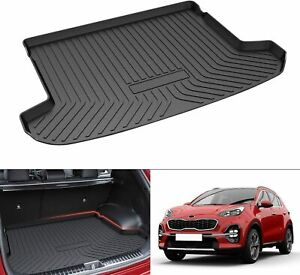 Trunk Cargo Liners Car Floor Mats Carpets For 2017 2019 Kia Sportage All Weather
