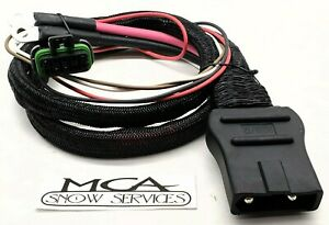 Western Fisher Snow Plow Battery Cable Plow Side Harness 42015