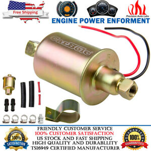 Universal 5 9psi Electric Low Fuel Pump Carburetor Hep 02a 12v Gas Diesel Inline