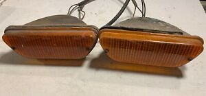 Set Of Lucas L858 Front Flasher Lamps 54887 Off 1973 Jensen Healey t2