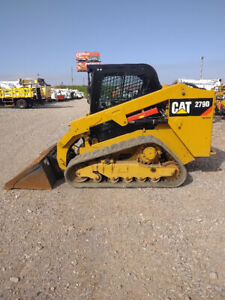 2017 Caterpillar Cat 279d Track Skid Steer Loader Cab Ac