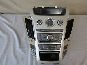 11 13 Cadillac Cts Climate Control Xm Radio Cd Aux Player Heat Cool Seats Oem