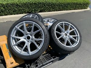 New Forgestar 19 Cf5v Wheels With New Michelin Ps4s Bmw F30 F31 F3 Flush Fit