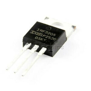 50pcs 110a 55v Irf 3205 N channel Power Mosfet Irf3205 To 220