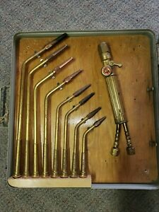 Vintage Elga Brazing Welding Set