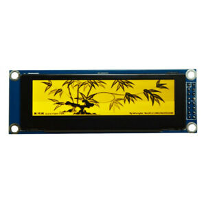 3 12 Inch Oled Display Module Spi Interface 256x64 Ssd1322 For Arduino Stm32 51