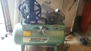 Speedair Air Compressor 5hp 3 Phase 3z429a