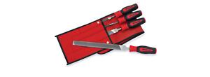 Snap On Tools 4 Piece Instinct Soft Grip Handle Mixed File Set