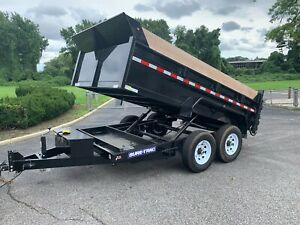 Practially New 2019 Sure Trac 7 By 12 Dump Trailer