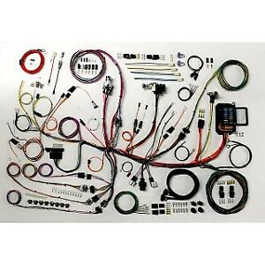 1953 1962 Chevy Corvette Classic Update Wiring Harness Direct Fit Master Kit