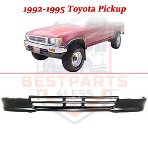 Front Lower Valance For 1992 1995 Toyota Pickup 4wd Panel Steel Painted black