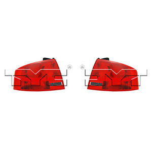 Fits 2005 2008 Audi A4 Tail Light Pair Side Dot