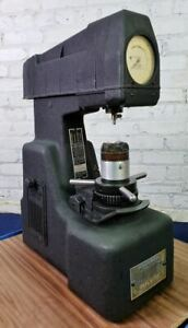 Wilson Rockwell Hardness Tester Model 1jr With Tips Excellent Condition
