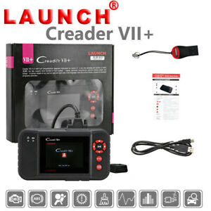 Launch X431 Vii Obd2 Car Diagnostic Scan Abs Srs Eng At Reset Tool For Chrysler