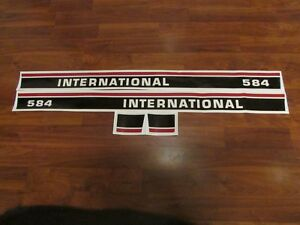 Tractor Decal Set To Fit 584 International Ih