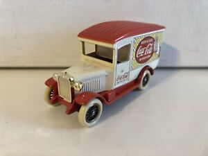 Coca Cola Die-Cast Metal Toy - Delivery Truck (White) - Made In England