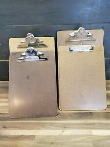 Lot Of 4 Vintage Clipboards 9x12 1 2 Letter Size Great For Displaying Photos