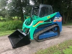 Ihi Cl35 Skid Steer Track Loader With Yanmar Turbo Diesel