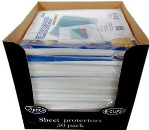 Heavy Duty Sheet Protectors 50 Ct Case Pack Of 48 Ideal For Bulk Buyers