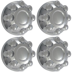 Set Of 4 Wheel Hub Chrome Center Caps Fits 2003 2013 Dodge Ram 2500 3500 Truck