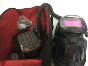 3m Speedglas Welding Helmet 9100mp Adflo Powered Air Purifying Respi pbr024016