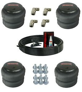 Airmaxxx 2500 Air Ride Suspension Bags 3 8 Hose And Brass Fittings