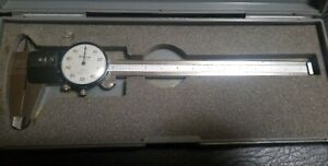 Mitutoyo Dial Caliper 6 Stainless Japan in Box 537 110 Ready To Ship