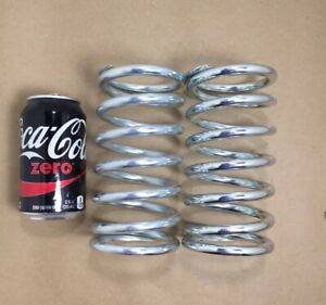 395 Wire Heavy Duty Compression Spring Lot Of 2