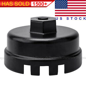 64mm Oil Filter Cap Wrench For Toyota Camry Corolla Highlander Rav4 Lexus Scion