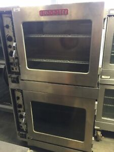Blodgett Double Stack Combi Steamer convection Oven