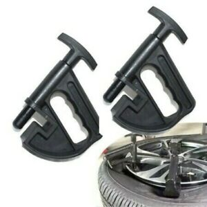 2 Pack Tire Changer Bead Clamp Drop Center Tool Wheel Rim Clamp Tyre Changing Us