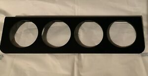 4 Hole 2 Gauge Mount Panel Bezel For Stewart Autometer Vdo Sunpro Equus Usa Mad
